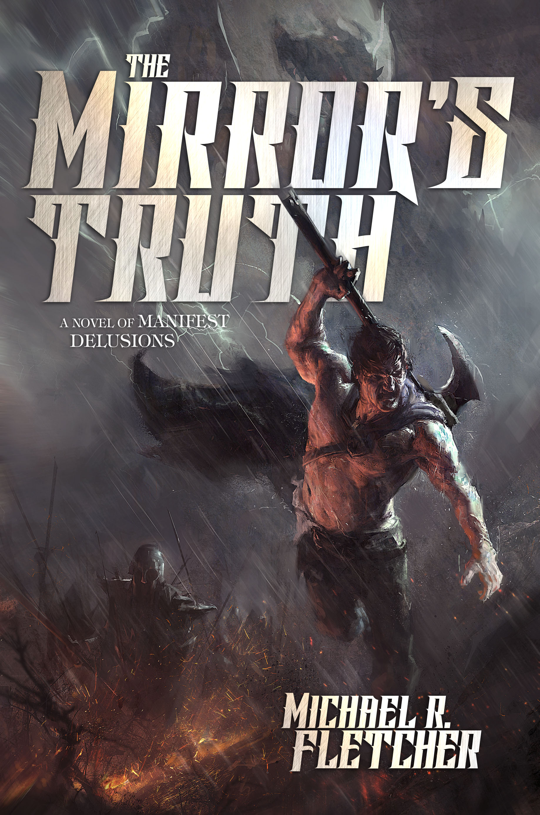 The Mirror's Truth - Cover Proof